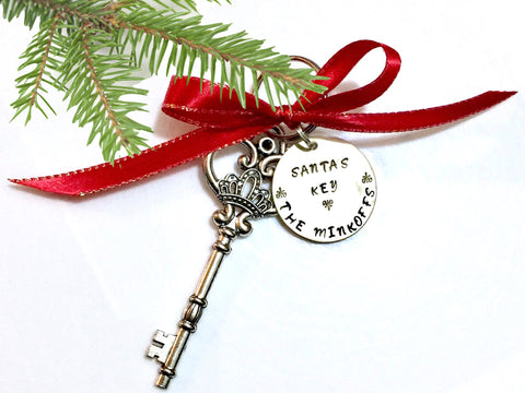 Personalized Santa Key