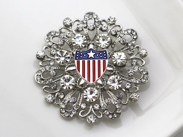 Adjutant General Brooch