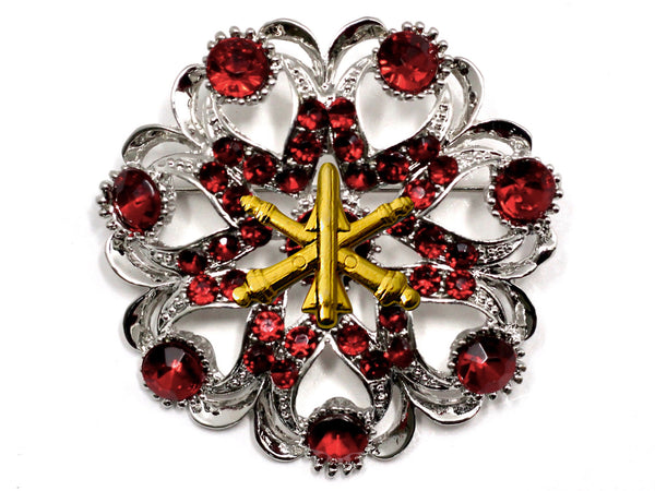 Air Defense Artillery Brooch