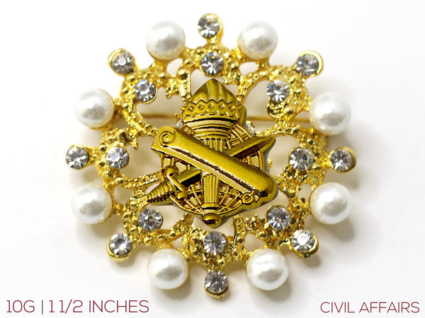 Civil Affairs Brooch