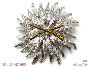 Infantry Brooch