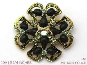 Military Police Brooch