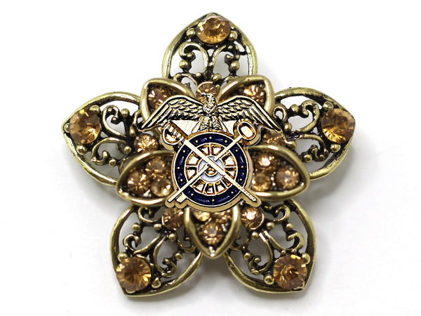 Quartermaster Brooch