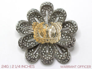 Warrant Officer Brooch