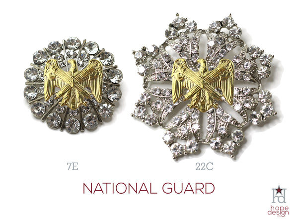 National Guard Brooch