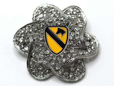 1st Cavalry Division Brooch