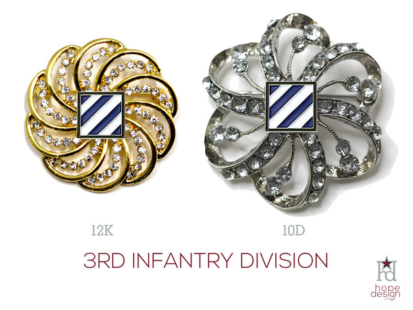 3rd Infantry Division Brooch