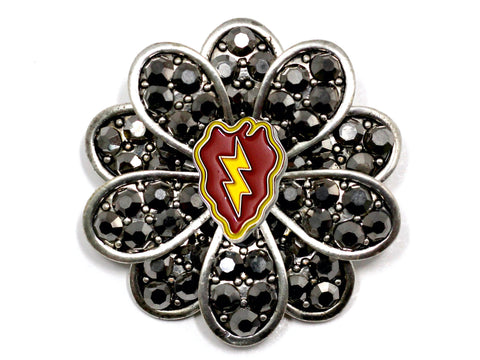 25th Infantry Division Brooch