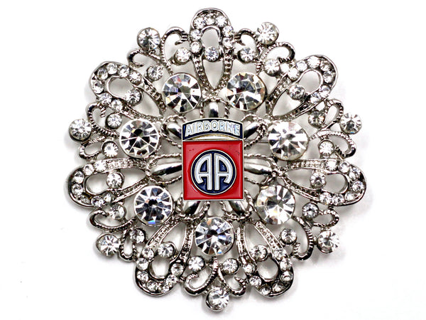 82nd Airborne Division Brooch