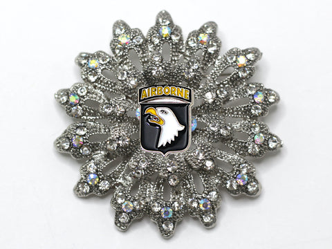101st Airborne Division Brooch