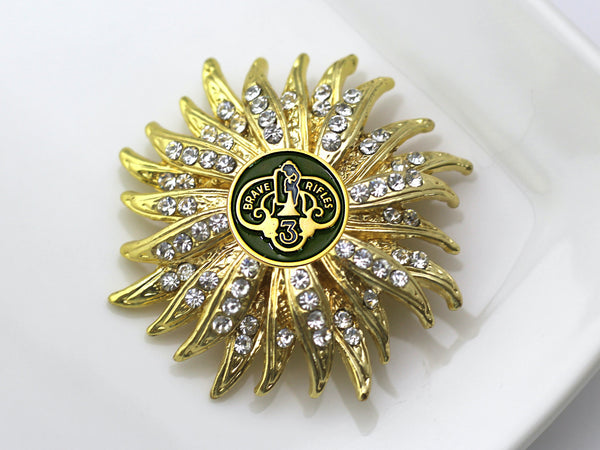 3rd Cavalry Regiment Brooch