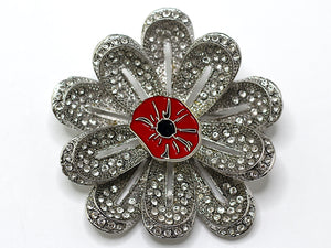 Poppy Brooch