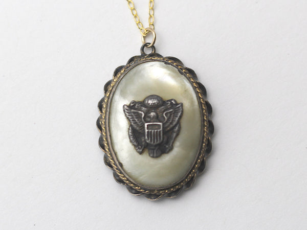 WWII-era Vintage Sweetheart Necklace | Eagle VB103