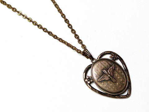 WWII-era Vintage Sweetheart Necklace | Aviation VB110