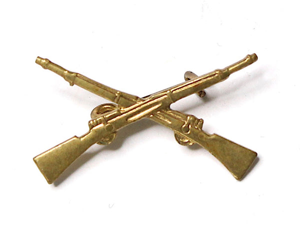 WWII-era Vintage Sweetheart Pin | Infantry Rifles VB34
