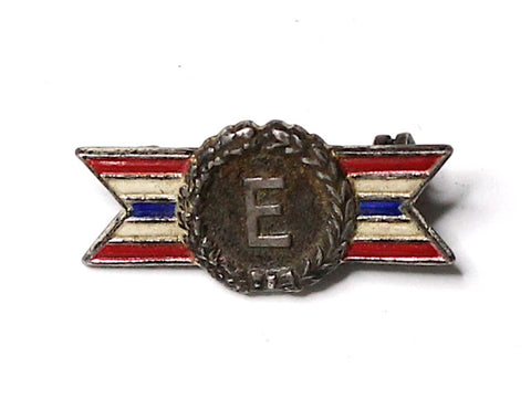 WWII-era Vintage Civilian Award Pin | Excellence VB145