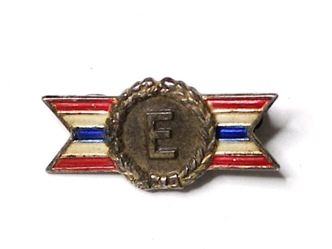 WWII-era Vintage Civilian Award Pin | Excellence VB146