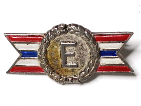 WWII-era Vintage Civilian Award Pin | Excellence VB147