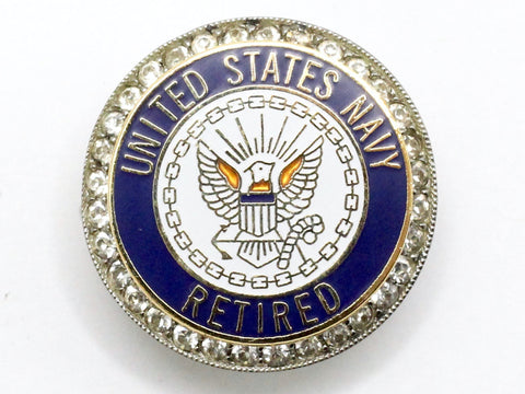 Navy Retired One of a Kind Brooch BR156