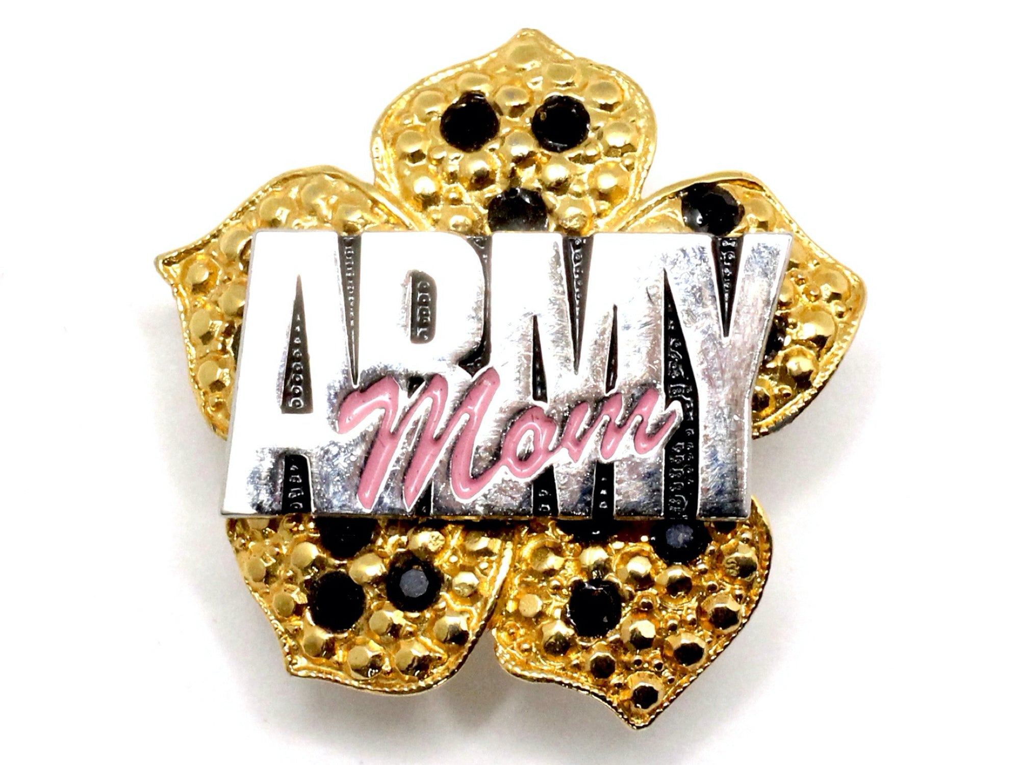 Army Mom One of a Kind Brooch BR12