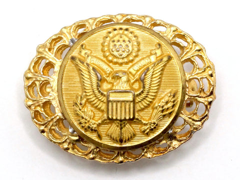 US Army Button Limited Edition Brooch BR3