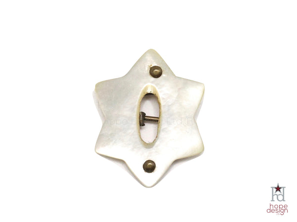 WWII-era Vintage Sweetheart Pin | Jewish Star VB25