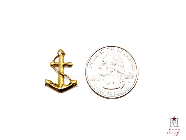 Vintage Sweetheart Charm | Fouled Anchor VB57