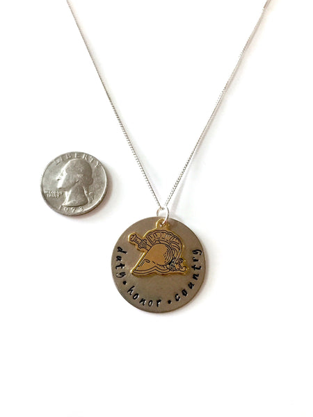 Duty Honor Country USMA Necklace