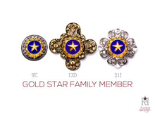 Load image into Gallery viewer, Gold Star Family Member Brooch
