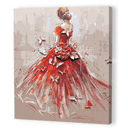 Bride-40*50cm Paint by Numbers For Adults Beginner - idiypaint