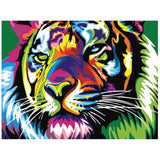 Lady Tigress-40*50cm DIY Paint by Numbers Kits - idiypaint