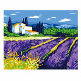 Lavender Manor-40*50cm DIY Paint by Numbers Kits - idiypaint