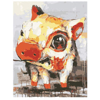 Cute Pig-40*50cm DIY Paint by Numbers Kits - idiypaint
