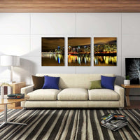3Pcs set Prosperous Reflection-40 x 50cm DIY Painting by Numbers Sets For Adults Beginner - idiypaint
