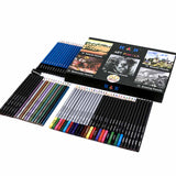 61Pcs Watercolor Sketching Professional Drawing Pencils Set Charcoals Pencils Supplies - idiypaint