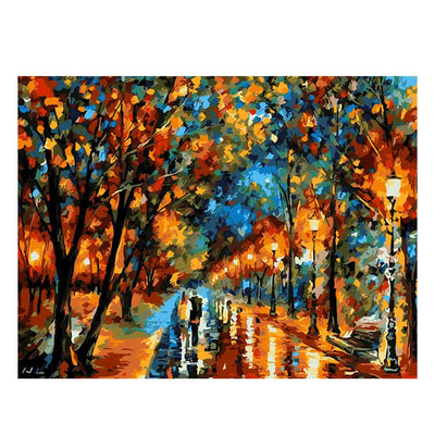 Sense Of Autumn-40*50cm DIY Paint by Numbers Kits - idiypaint
