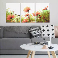 DIY Painting by Numbers Sets 3Pcs Field 40 x 50cm - idiypaint