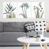 DIY Painting by Numbers Sets 3Pcs Potted 40 x 50cm - idiypaint