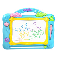 Magnetic Drawing Board Learning Enlightenment Graphics Tablet for Children - Color Random L - idiypaint