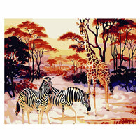 Grassland Animal-40*50cm DIY Paint by Numbers Kits - idiypaint