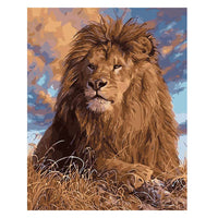 Lion-40*50cm DIY Paint by Numbers Kits - idiypaint