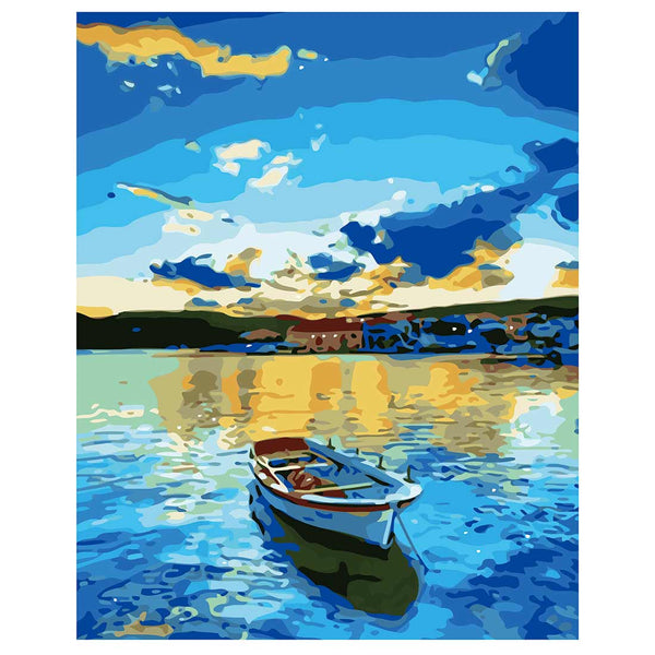 Boat-40*50cm DIY Paint by Numbers Kits - idiypaint