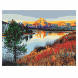 The Lake Scenery-40*50cm DIY Paint by Numbers Kits - idiypaint