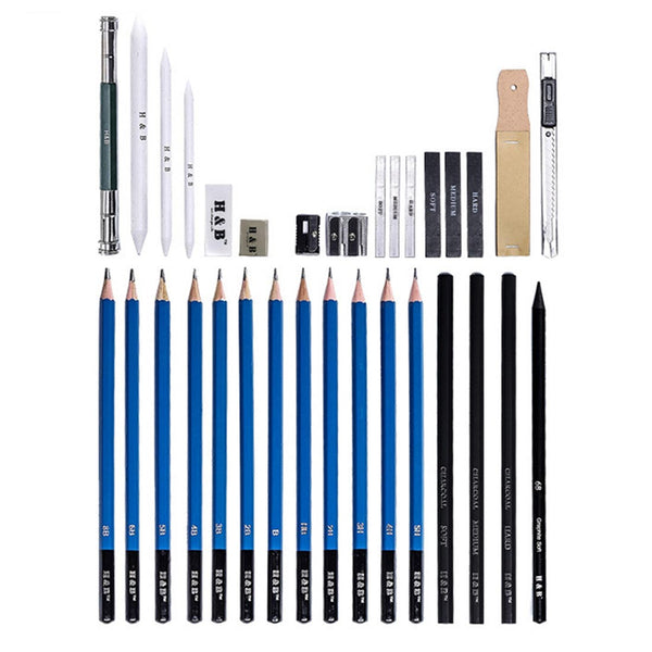 Buy Professional Acrylic Art Paint Brushes & Watercolor Pencils