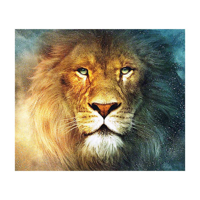 Lion- DIY 5D Diamond Painting - idiypaint