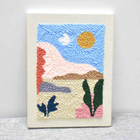 Sunny DIY Knitting Wool Rug Hooking Punch Needle Embroidery Kit - idiypaint