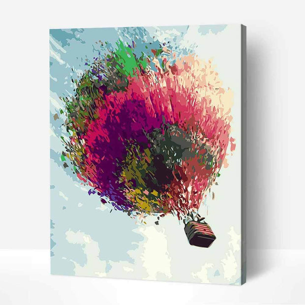 Color Hot-air Balloon-40*50cm DIY Paint by Numbers Kits - idiypaint