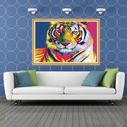 Colour Tiger-40*50cm Paint by Numbers For Adults Beginner - idiypaint