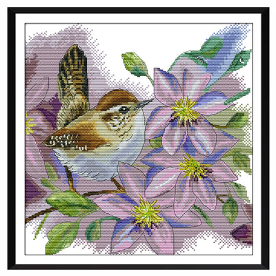Branches Bird-  DIY Cross Stitch Kits - idiypaint