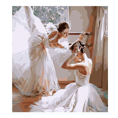Ballets-40*50cm DIY Paint by Numbers Kits - idiypaint